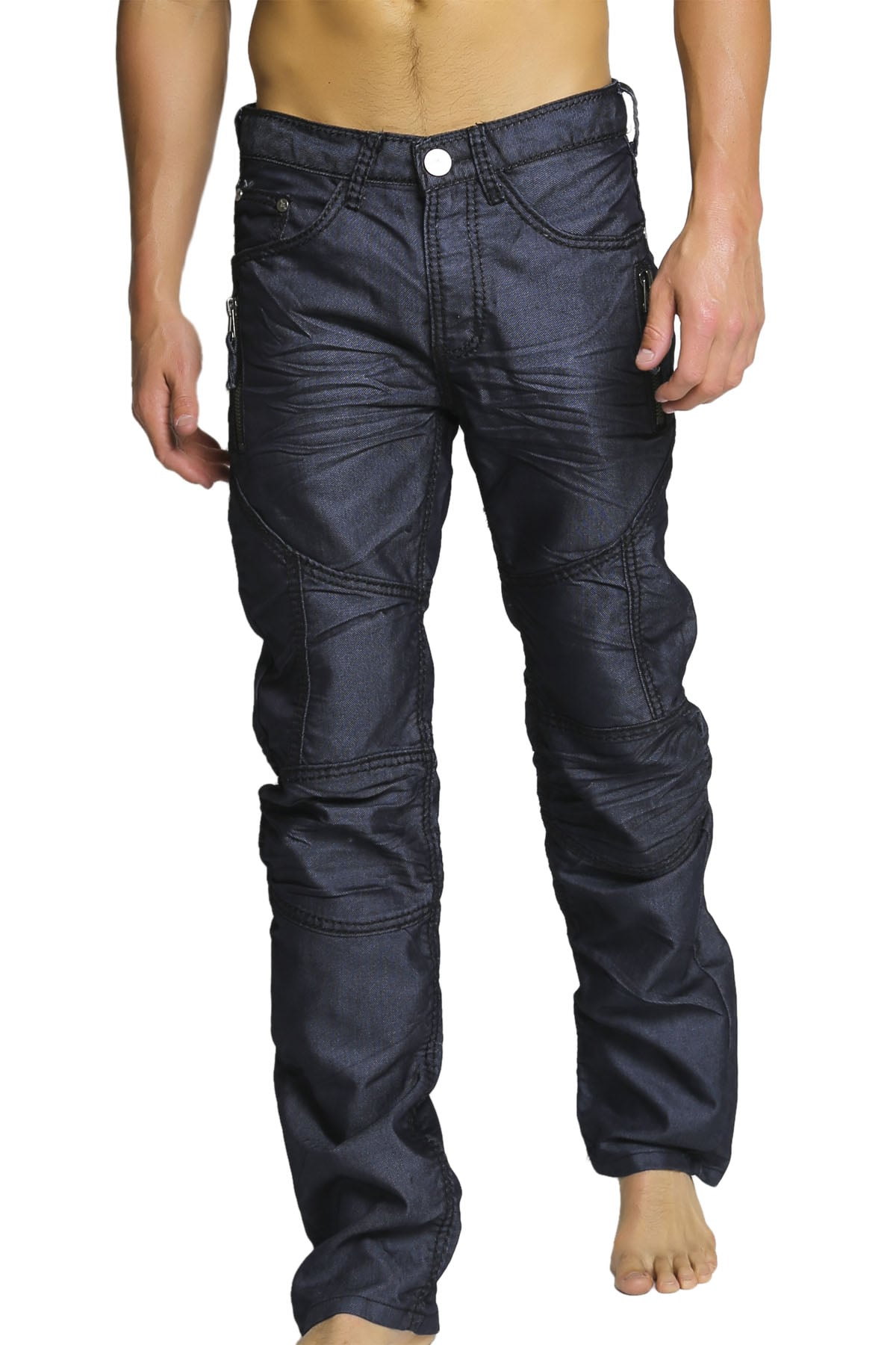 V.I.P. Collection Dark Blue Amboy Jean