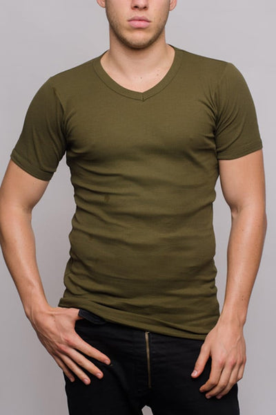 Jocko Army Ribbed V-Neck Shirt