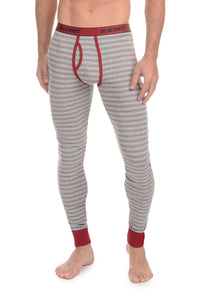 2(X)IST Heather Grey Essential Cotton Long John