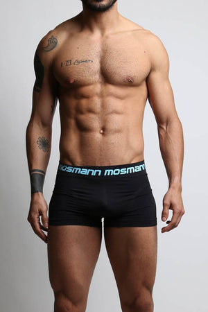 3-Pack Mosmann Black Trunks