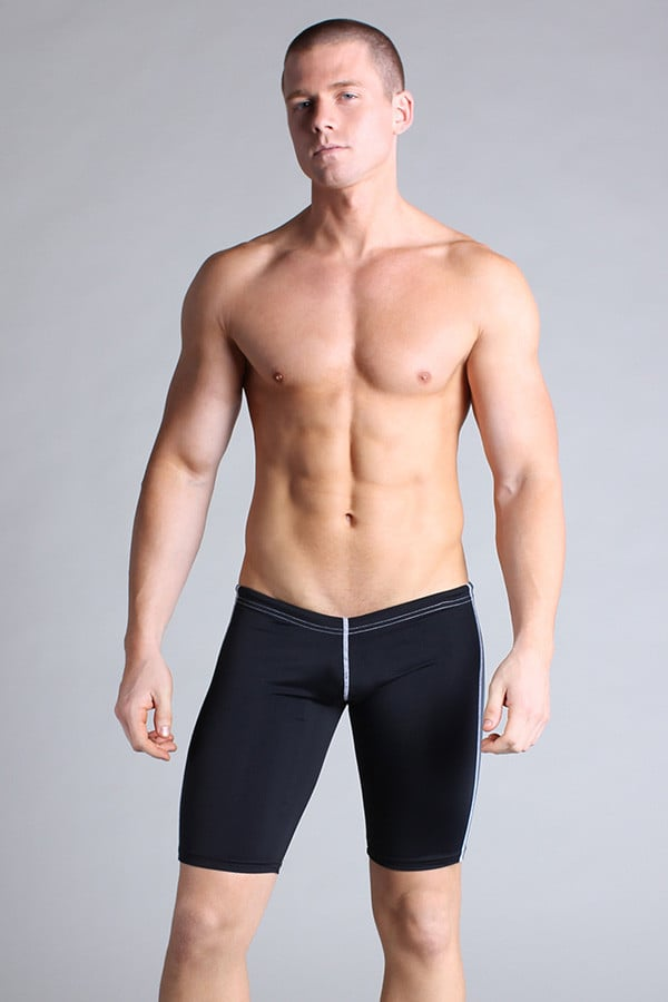 Timoteo Black Workout Legging Short