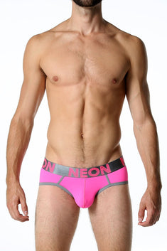 CheapUndies Neon Pink Brief