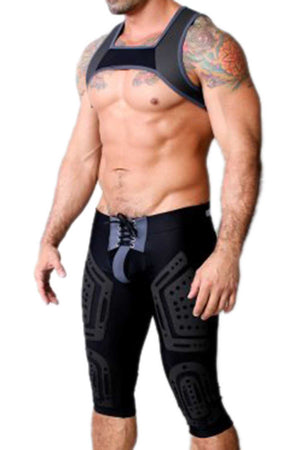 Cellblock 13 Black Lace-Up Stryker Pant