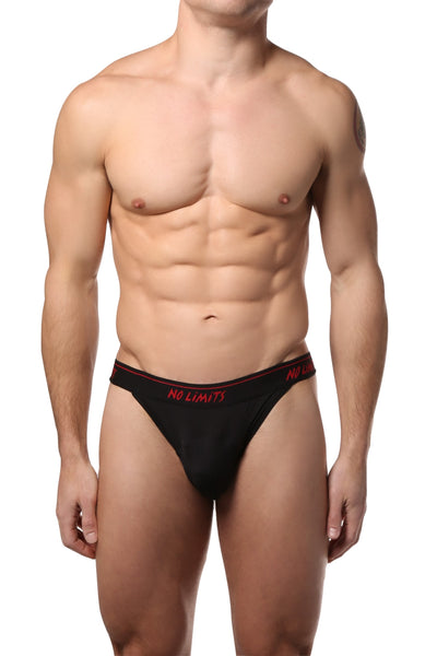 No Limits Black Mesh Bikini - CheapUndies.com