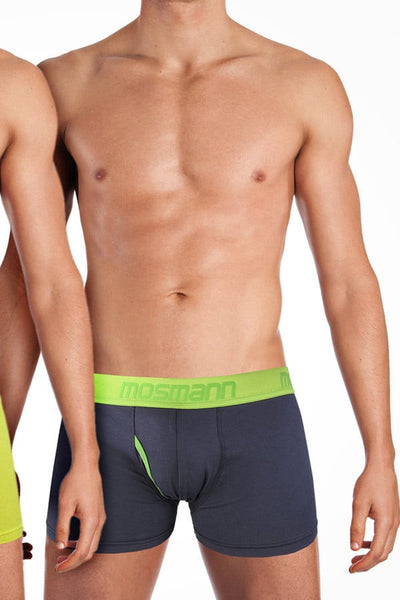 Mosmann Navy & Lime 2-Pack Boxer Brief