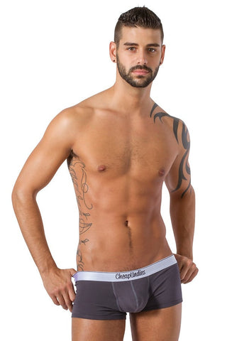 CheapUndies Charcoal Jock Trunk