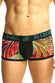 Black & Multi Firework Print Bamboo Trunk - CheapUndies.com