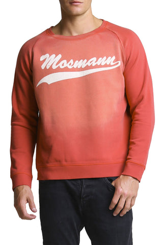 Mosmann Red Vintage Brooklyn Sweater