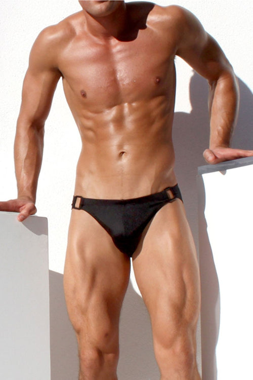 Rufskin Black Ashton Swim Jock - CheapUndies.com