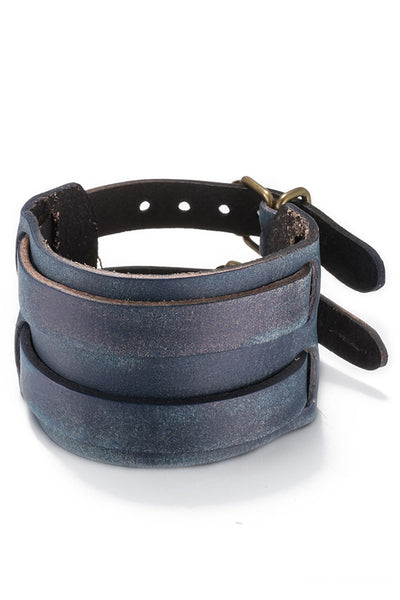 Blue Double Buckle Wristband - CheapUndies.com