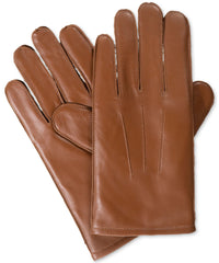 Isotoner Signature Leather Stretch Gloves Large