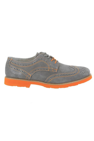 GBX  Grey Oxford Suede Shoes
