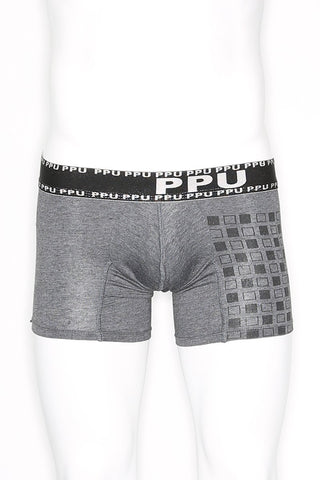 PPU Grey Cubits Boxer Brief