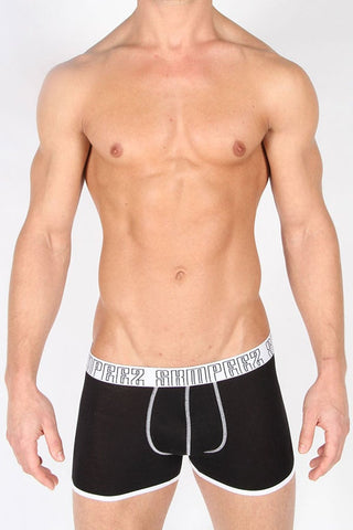 Skimped Black Sazzy Boxer Brief