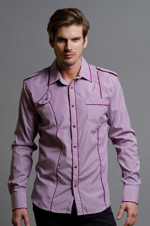 Young Republic Purple Spencer Button-Up