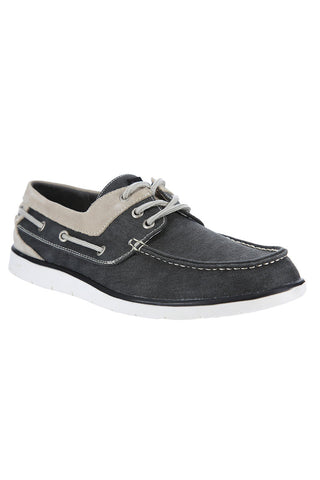 GBX East Black Boat Shoe