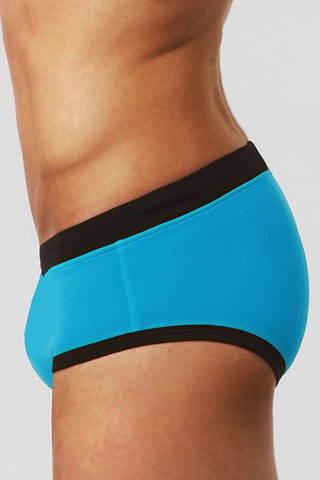 BWET Turquoise Sant Pol Swim Brief