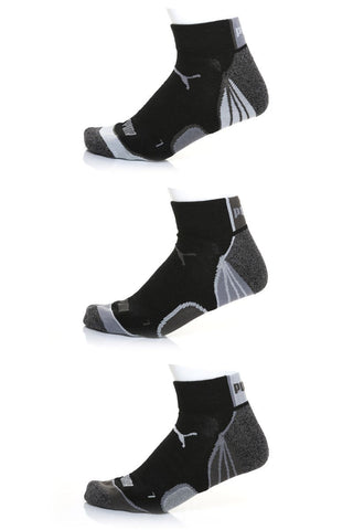 Puma 008 Allsport Qtr Crew Sock 3-Pack
