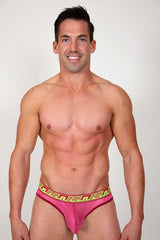 Pistol Pete Pink Caribbean Brief