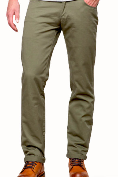 Something Strong Dark Green Straight Leg 5-pocket Pant - CheapUndies.com