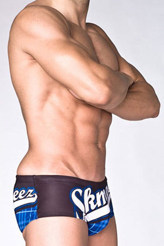 Skmpeez Blue Majorz Euroz Swim Brief