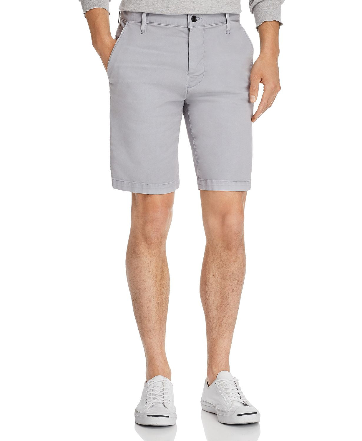 7 For All Mankind Slim Fit Chino Shorts Stone