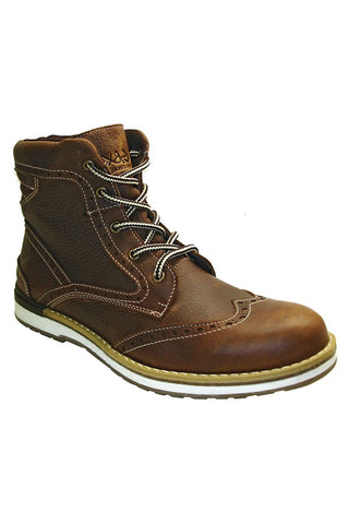 GBX Dark Brown Leather Boot