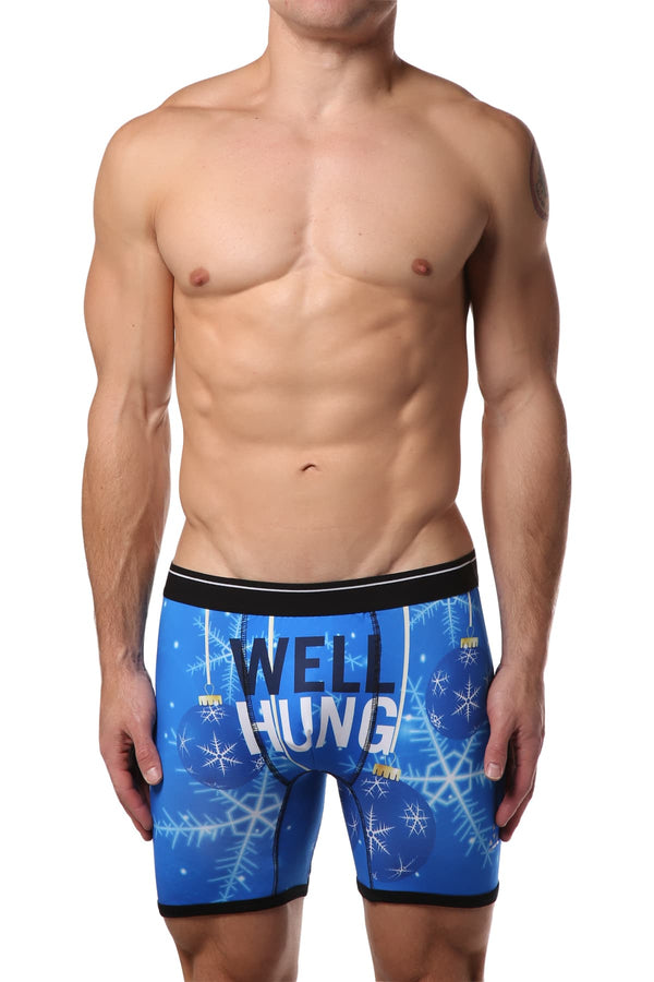 Balanced Tech Well Hung Ornaments Boxer Brief - CheapUndies.com