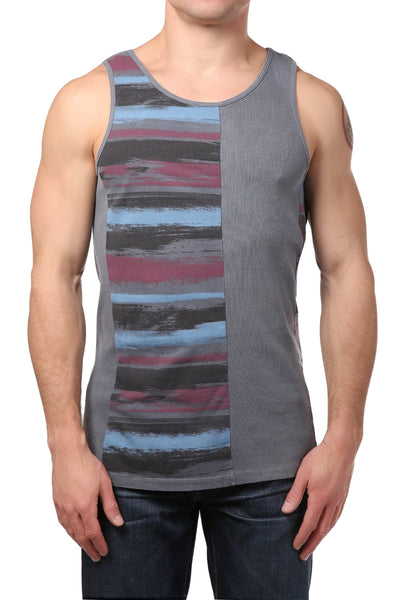 Black Hearts Brigade Grey Heroic Tank Top