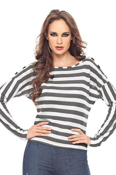 Fiory Striped Natasha Pullover