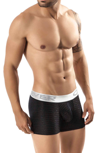 Clever Black Pinerolo Boxer - CheapUndies.com