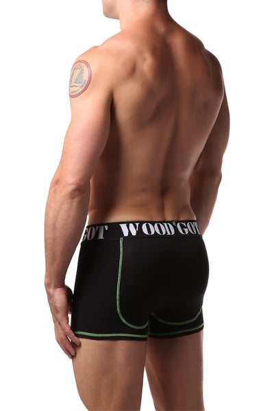 Got Wood Black Boxer Brief