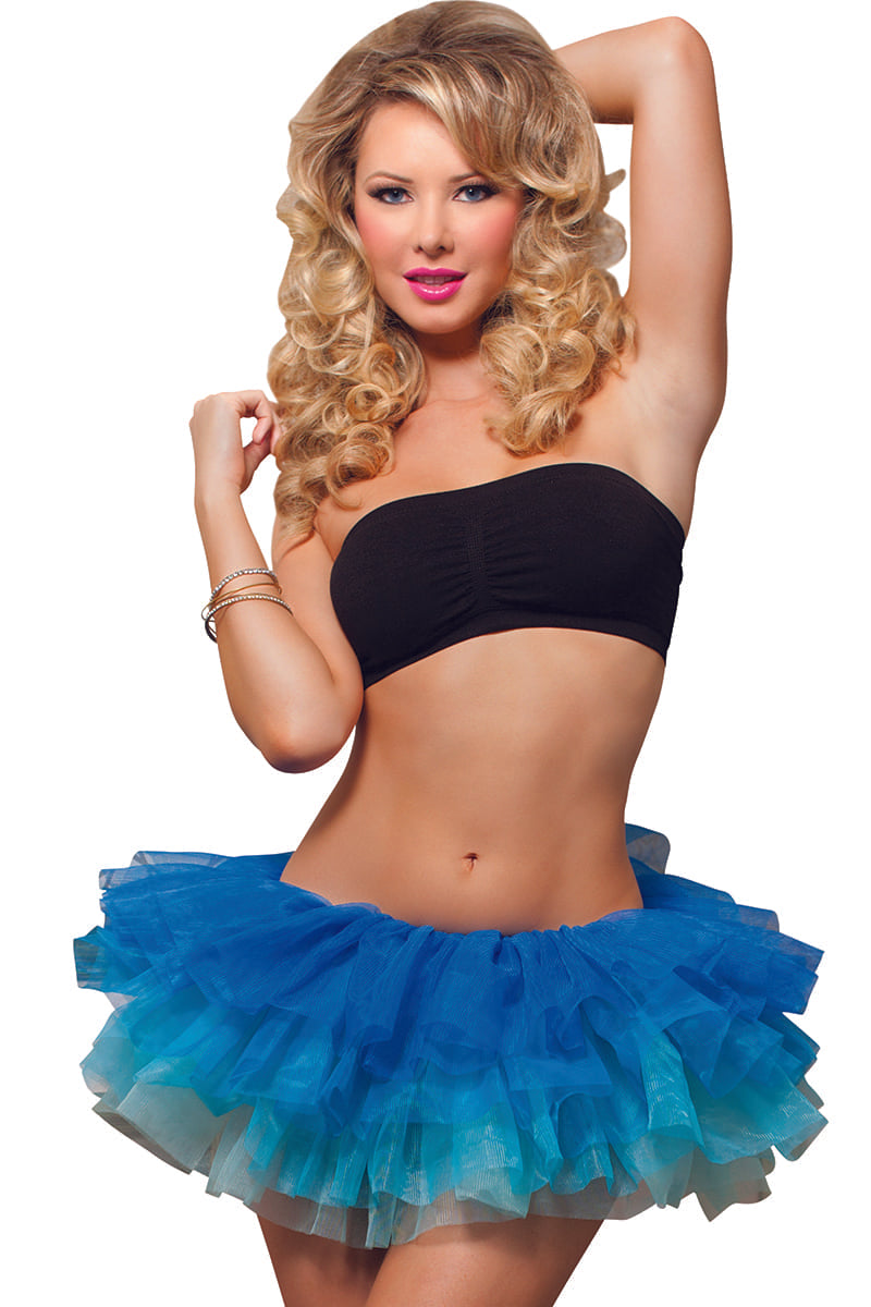 Seven 'Til Midnight Blue Ombré Tutu