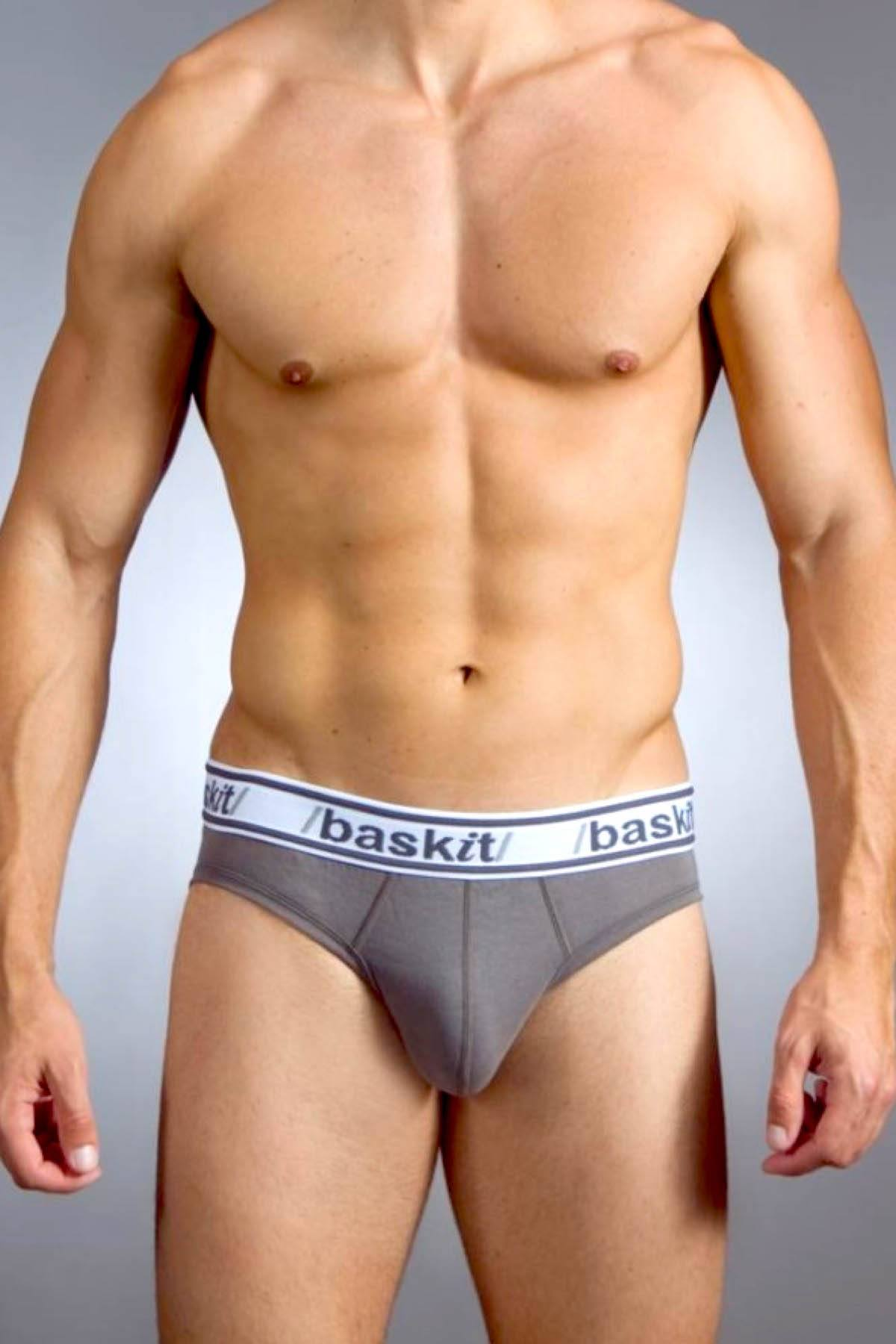 Baskit Charcoal-Grey Light* Brief