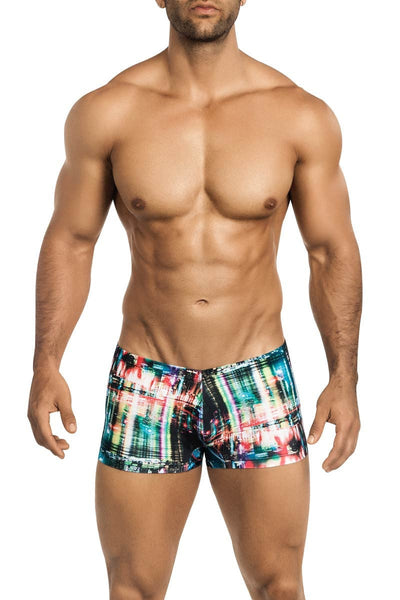 Vuthy NYC Skyline Swim Trunk