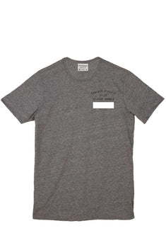 Rxmance Heather Grey Club Crew Tee