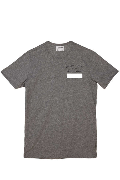 Rxmance Heather Grey Club Crew Tee - CheapUndies.com