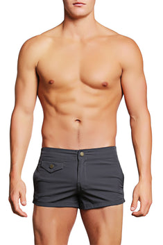 PoolBoy Grey Shorty Short