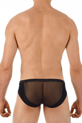 Gregg Homme Black Tryst Mesh Brief