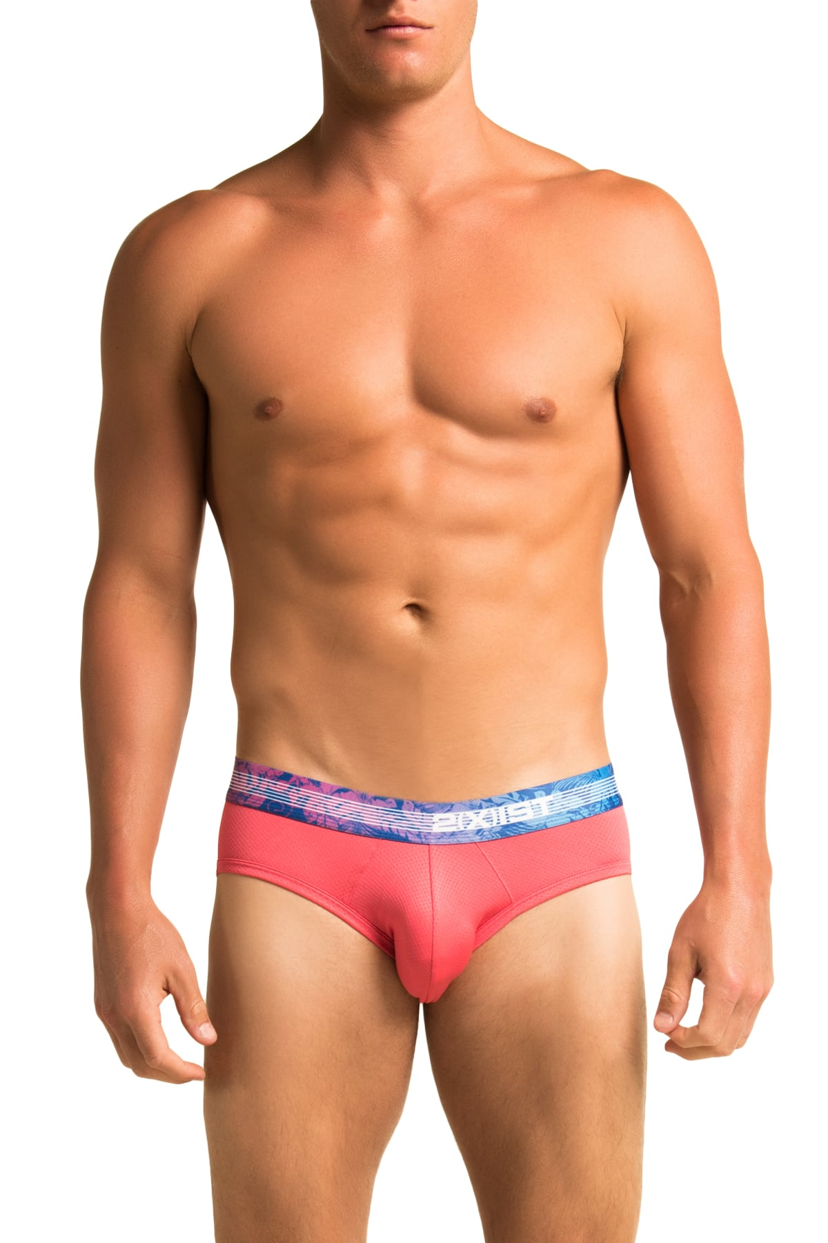 2(X)IST Pink Tropic Brief