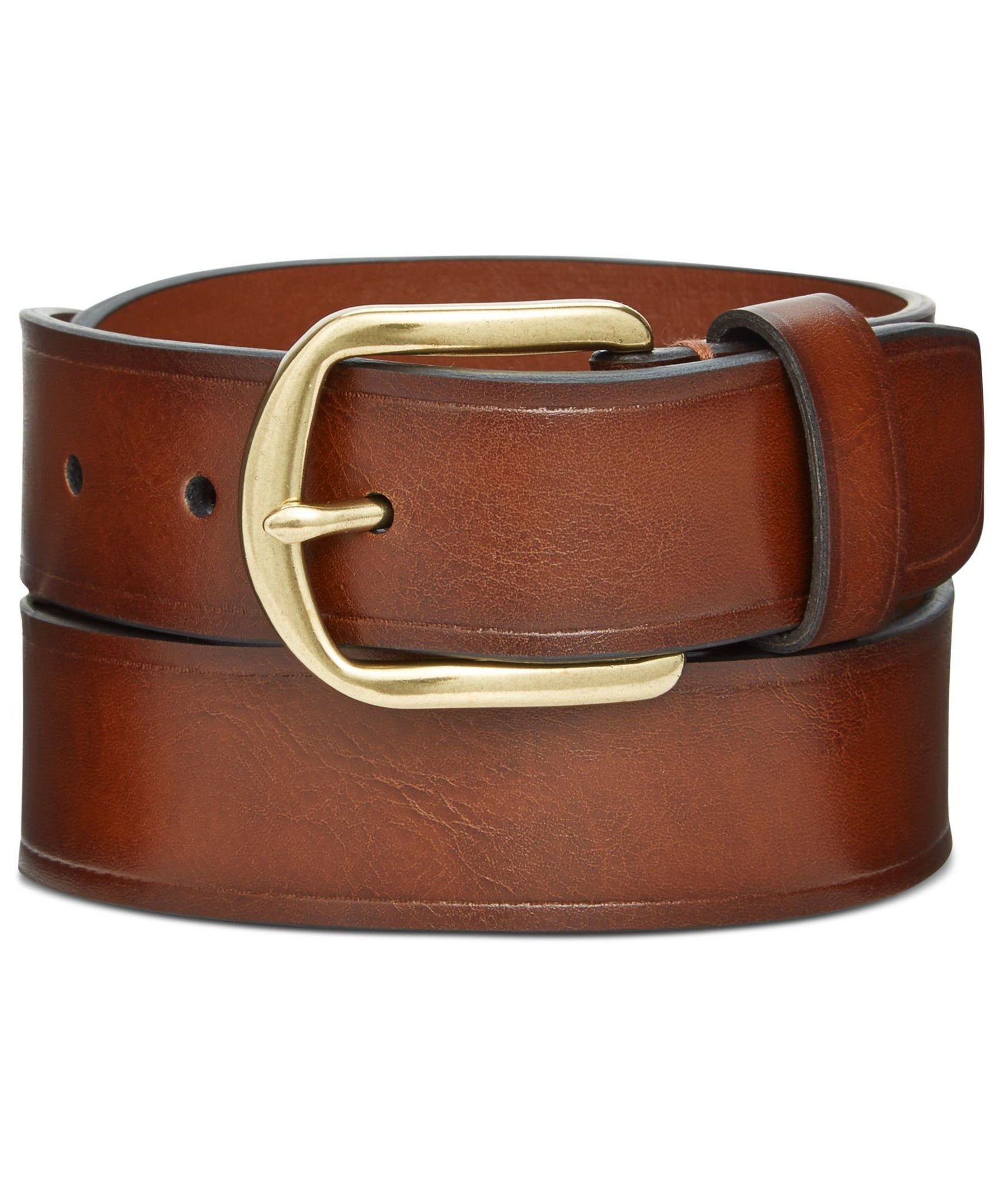 Alfani Cognac 35mm Dress Belt