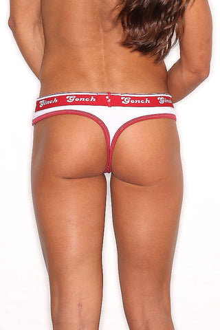 Ginch Gonch Red Bandana Thong
