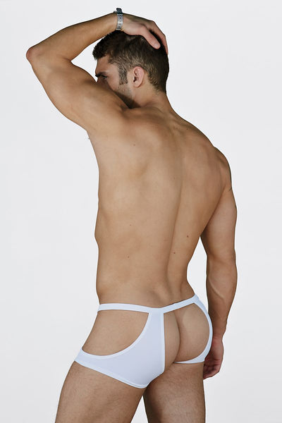 Extreme Collection White Fetish Jock-Trunk - CheapUndies.com