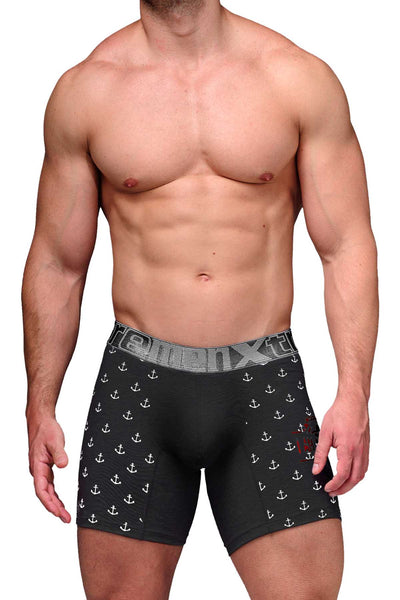 Xtremen Black Anchor Microfiber Boxer Brief - CheapUndies.com