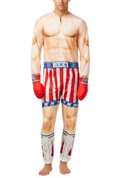 Briefly Stated Adult Rocky Pajama Onesie