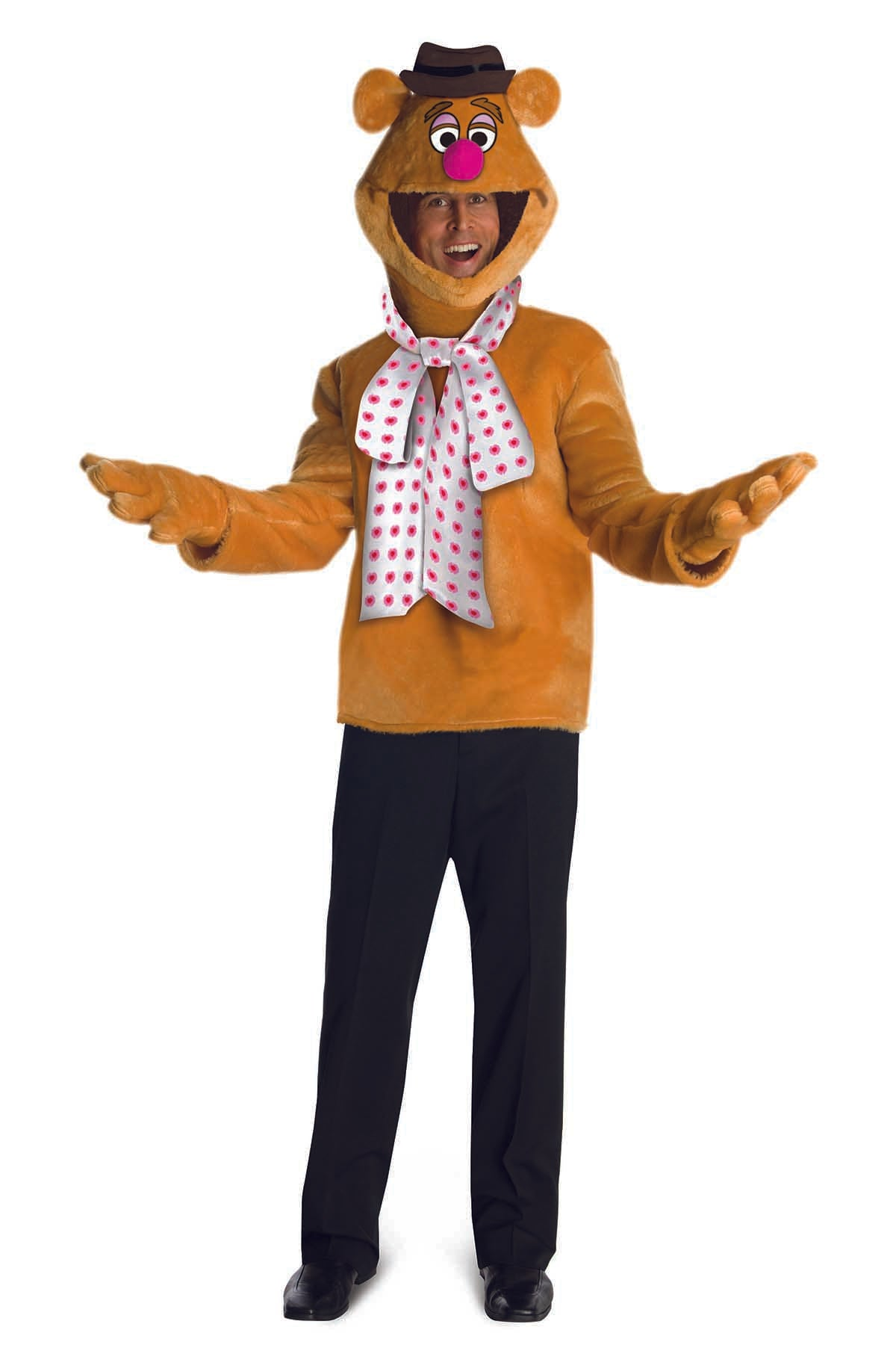 Rubies Costume Fozzie Bear 3pc Adult Costume