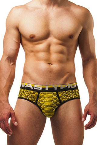 Nasty Pig Yellow Venom Brief