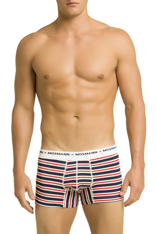 Mosmann Red & Blue Striped Bradley Boxer
