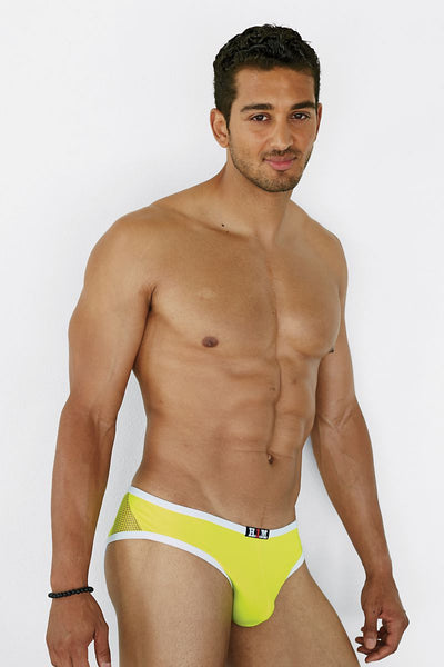 H.I.M. Lime Windows Jockstrap - CheapUndies.com