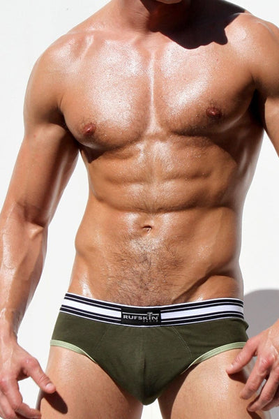 Rufskin Army Green Commando Brief